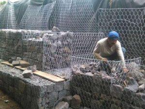 Construcción ejecución obras de gaviones