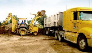 Distancia de Sobreacarreo, Transporte de material