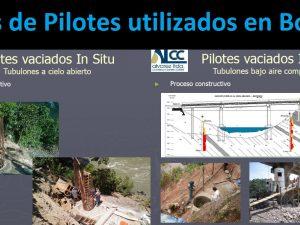 Tipos de Pilotes utilizados en Bolivia
