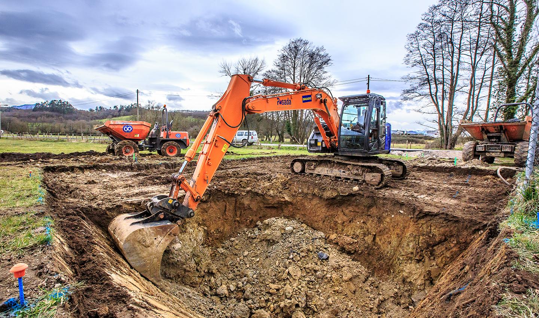 Cuantificar volúmenes de excavación
