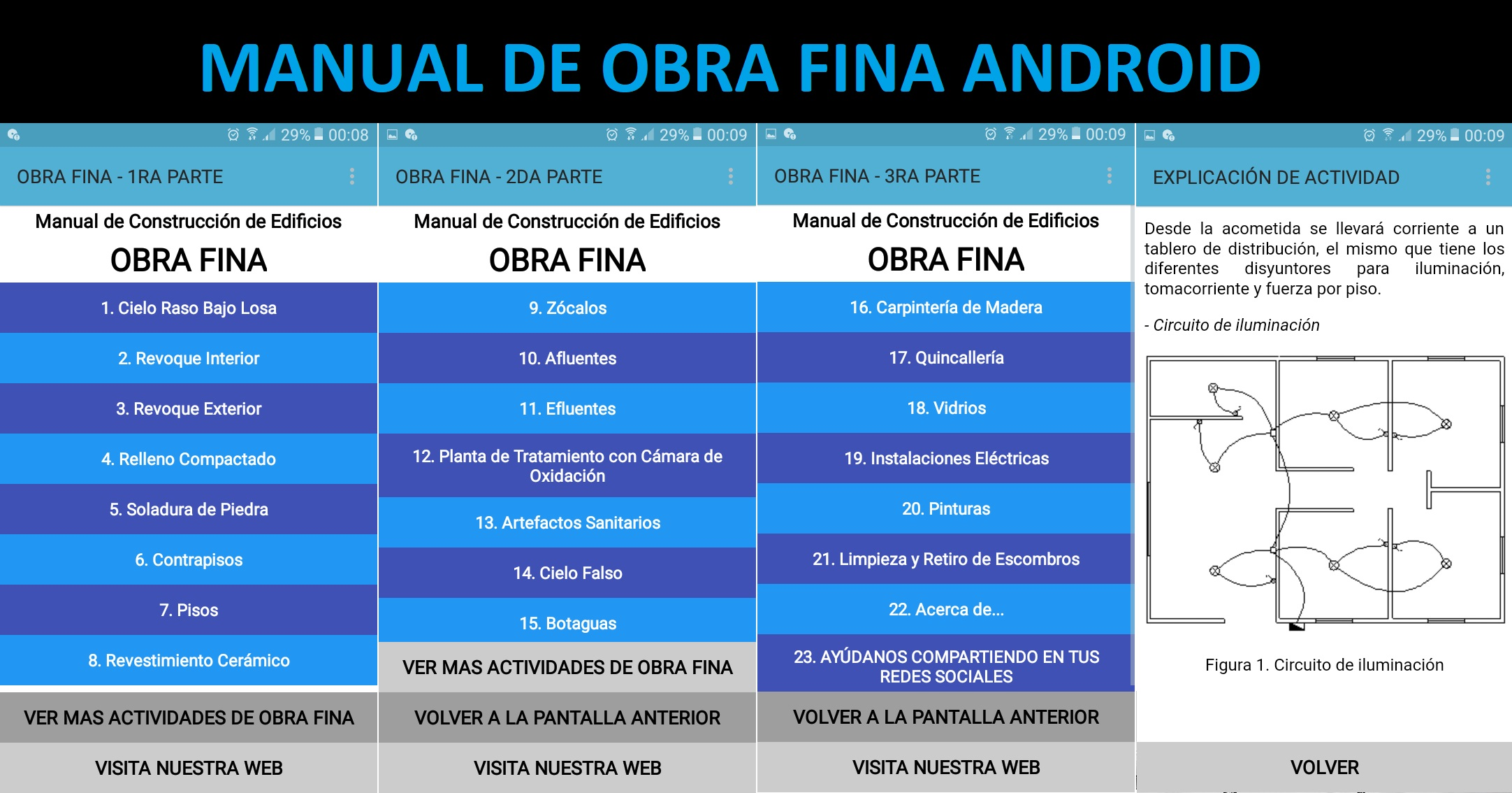Manual de Obra Fina Android