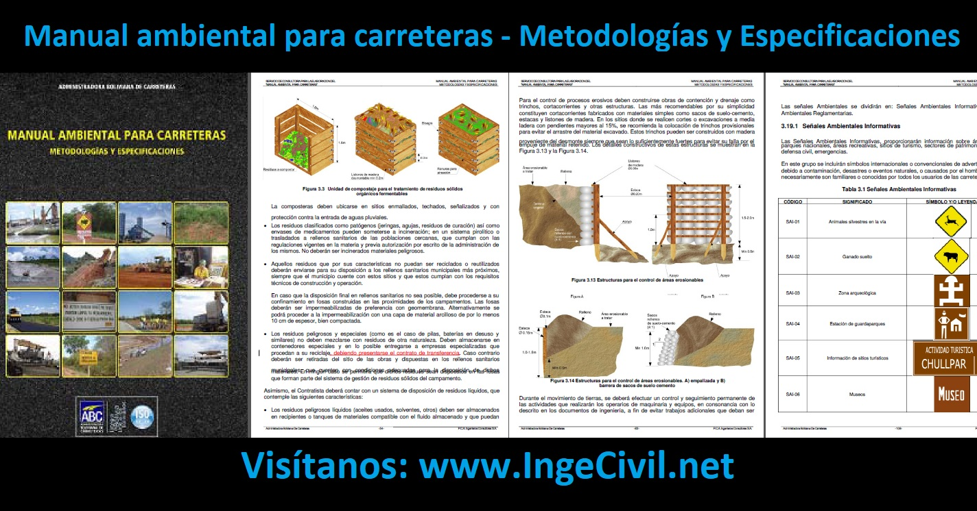 Manual ambiental para carreteras