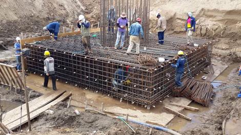 fundaciones de construcción