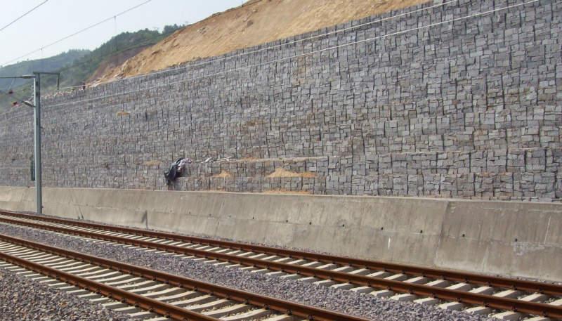 Muro de Contención Vía Férrea