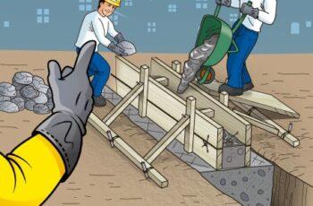 Construcción de Sobrecimientos de Hormigón Ciclópeo