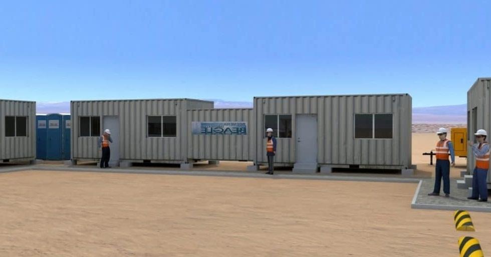Instalación de Faenas, Construcción Provisional